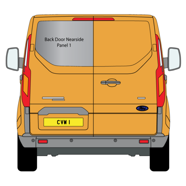 Cheshire-Vehicle-Aluminium-Windows - Ford-Transit - Custom - LWB - 2014 - Back-Barn-Door - Nearside-Panel-1