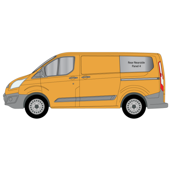 Cheshire-Vehicle-Aluminium-Windows-Ford-Transit-Custom-SWB-2014-Nearside-Panel-4