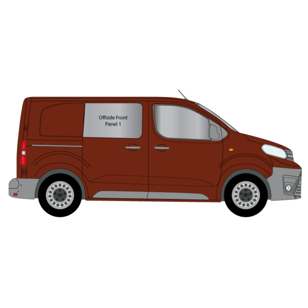 Cheshire-Vehicle-Glass-Conversion-Windows-Toyota-Proace-2017-Compact-Offside-Panel-1