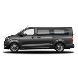 Cheshire Vehicle Glass Windows Van Conversions - Toyota Proace SL2 LWB Dark Silver 800px sq